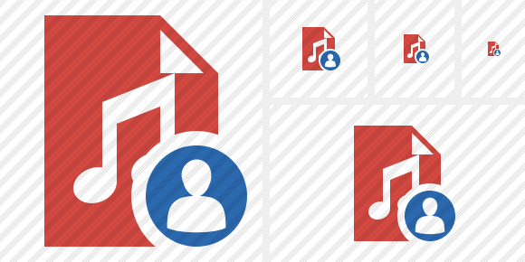 File Music User Icon