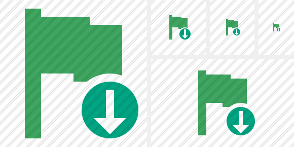 Flag Green Download Symbol
