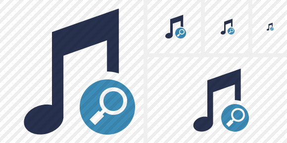 Music Search Icon