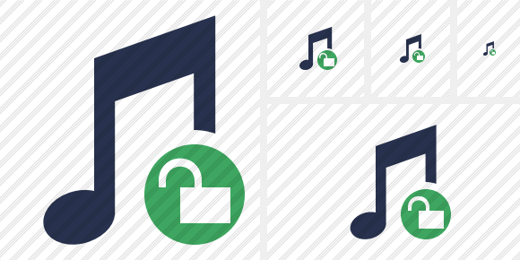 Music Unlock Icon