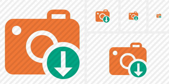 Photocamera Download Symbol
