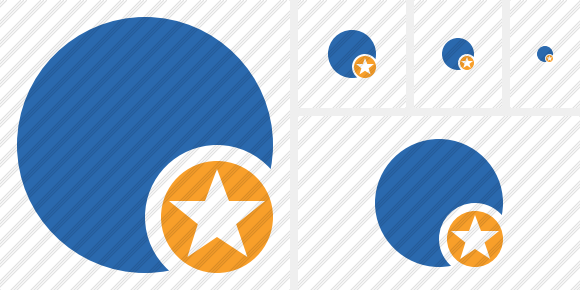 Point Blue Star Icon