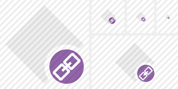 Rhombus Light Link Icon