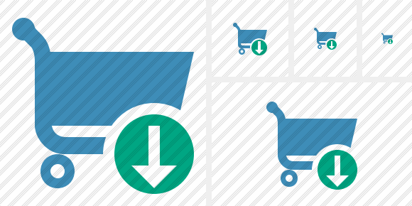 Shopping Download Symbol