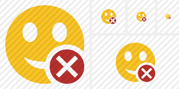Smile Cancel Symbol