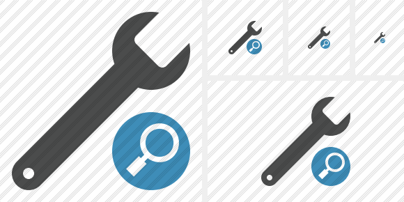 Spanner Search Icon