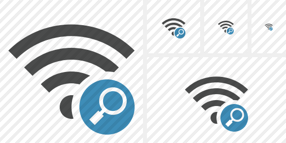 Wi Fi Search Symbol