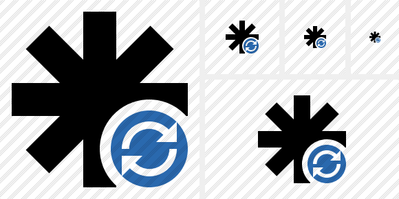 Asterisk Refresh Icon