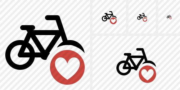 Bicycle Favorites Icon