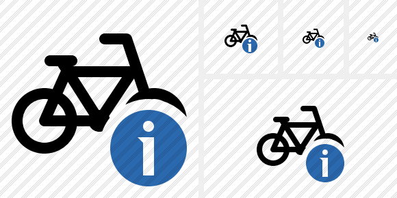 Bicycle Information Icon