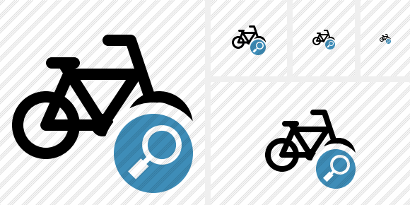 Bicycle Search Icon