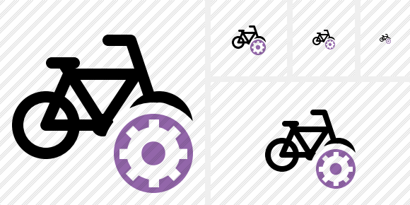 Bicycle Settings Symbol