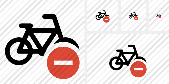 Bicycle Stop Symbol