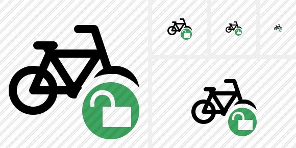 Bicycle Unlock Symbol