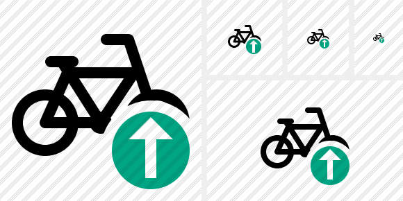 Bicycle Upload Symbol