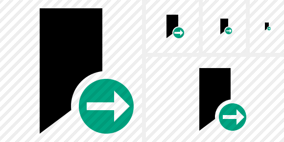 Icône Bookmark Next