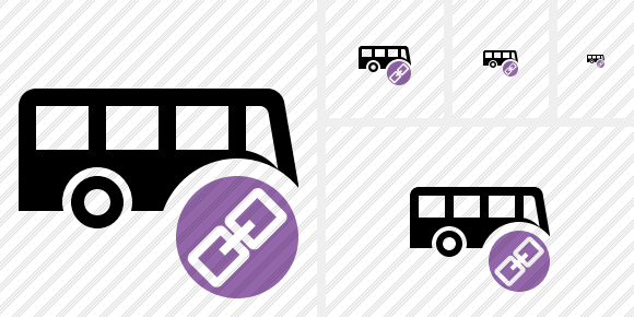 Bus Link Icon