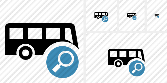 Bus Search Symbol