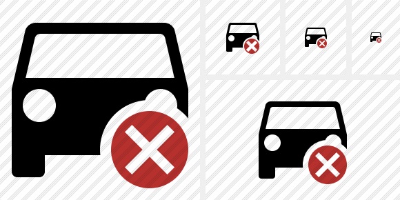 Car 2 Cancel Icon