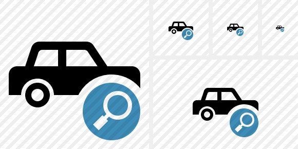Car Search Icon