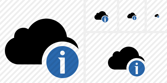Cloud Information Symbol