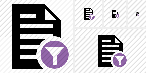 Document Filter Icon