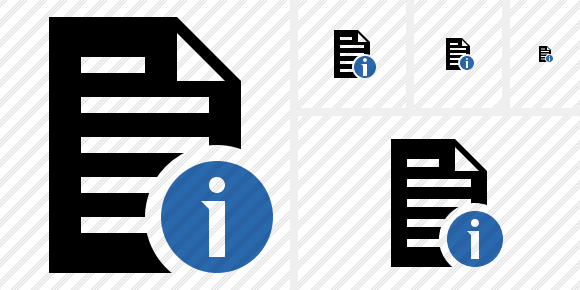 Document Information Icon