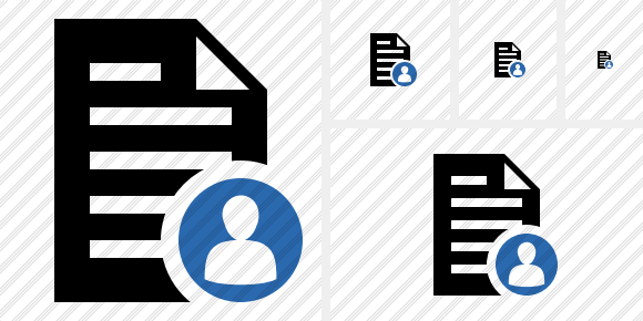 Document User Icon