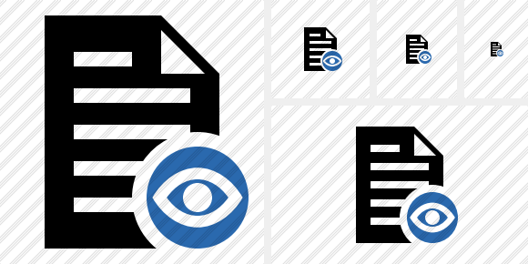 Document View Icon