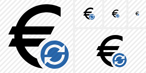 Euro Refresh Icon