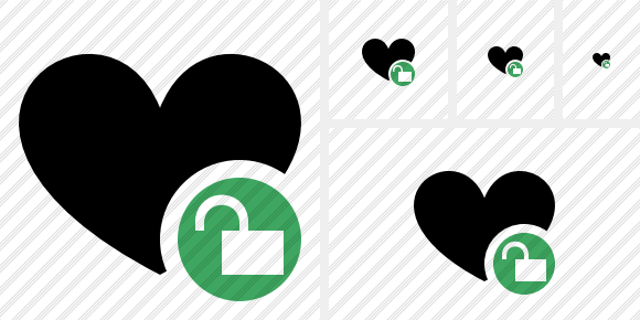 Icône Favorites Unlock