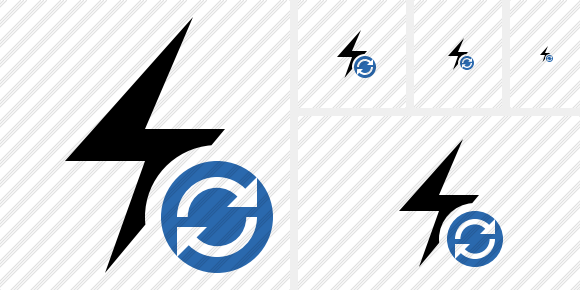 Flash Refresh Icon