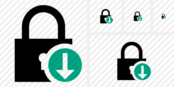 Lock Download Symbol