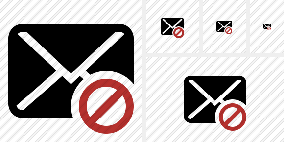 Mail Block Icon