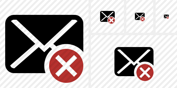 Mail Cancel Icon