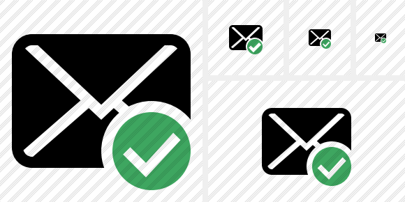 Mail Ok Icon