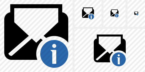Mail Read Information Icon