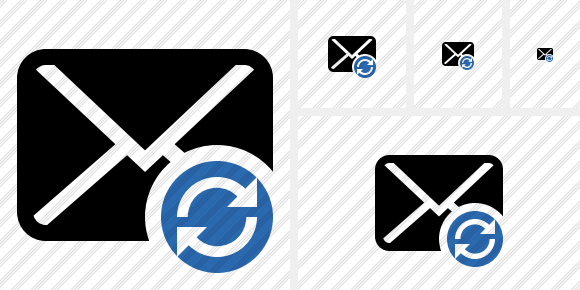 Mail Refresh Icon