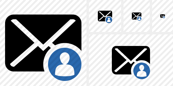 Mail User Icon