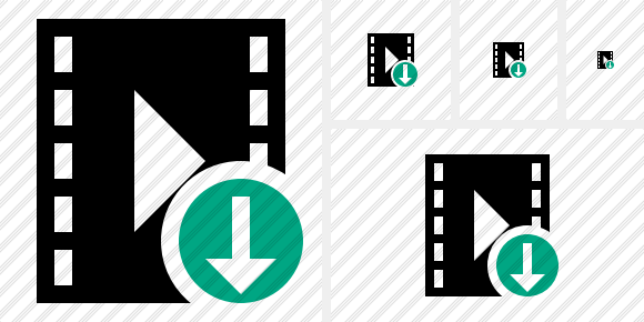 Movie Download Symbol