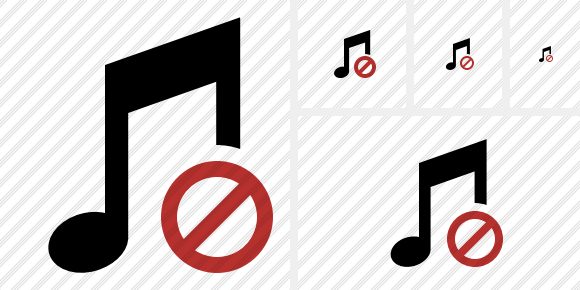 Music Block Icon