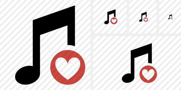 Music Favorites Symbol