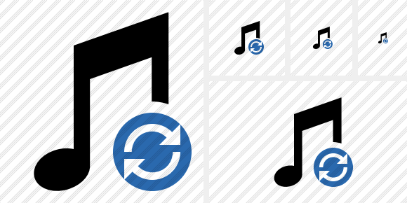 Music Refresh Icon