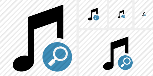 Music Search Symbol