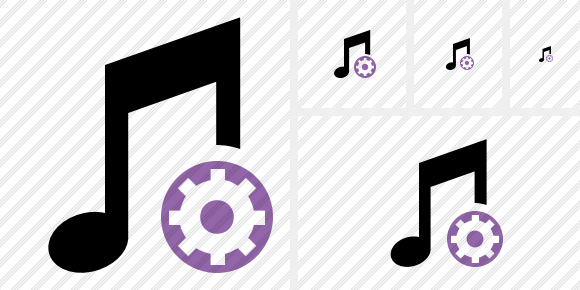 Music Settings Symbol
