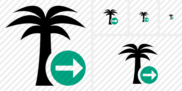 Palmtree Next Icon