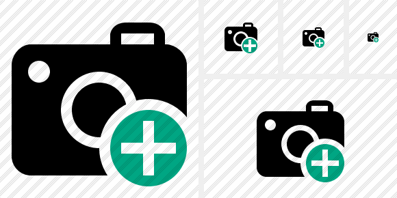 Photocamera Add Icon