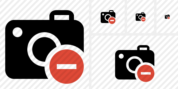 Photocamera Stop Icon