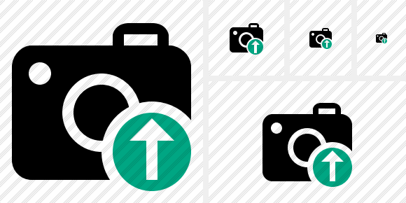 Photocamera Upload Icon