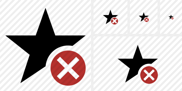 Star Cancel Symbol